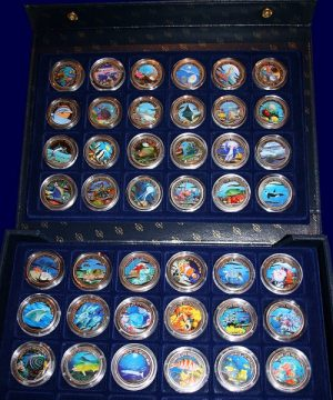 Marine-Life Protection Color Coins & mehr