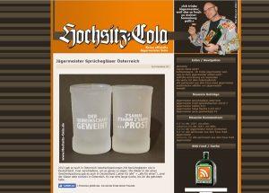 Hochsitz-Cola