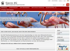 WWF Sammelprogramme