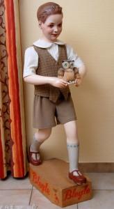 Bleyle Junge (um 1930/35/ - Anklicken zum Vergrößern