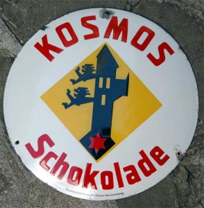 Kosmos Schokolade, um 1920, Selten
