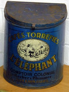 CAFES TORREFIES L' ELEPHANT - Comptoir Colonial Herber & Plummer Luxembourg