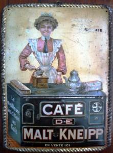 Café de Malt Kneipp (Malzkaffee) um 1900