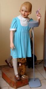 Bleyle Mädchen (um 1930/35/ - Anklicken zum Vergrößern
