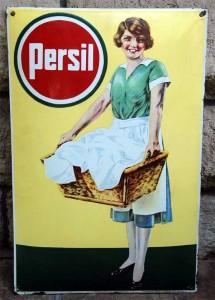 Persil Waschkorbfrau, 30er