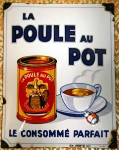 La Poule au Pot - 20er Jahre - Frankreich
