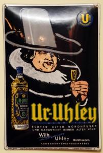 UR-UHLEY: Kornbranntwein um 1930