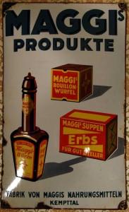 MAGGI Produkte, Kempttal, um 1920
