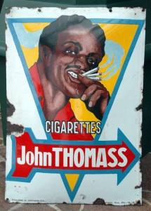 CIGARETTES JOHN THOMASS, um 1928