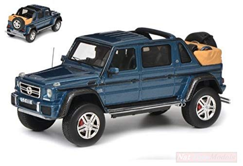 schuco sh9004 mercedes maybach g650 blue 1 43 modellino. Black Bedroom Furniture Sets. Home Design Ideas